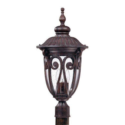 Nuvo Lighting Corniche 3 Light Post Lantern