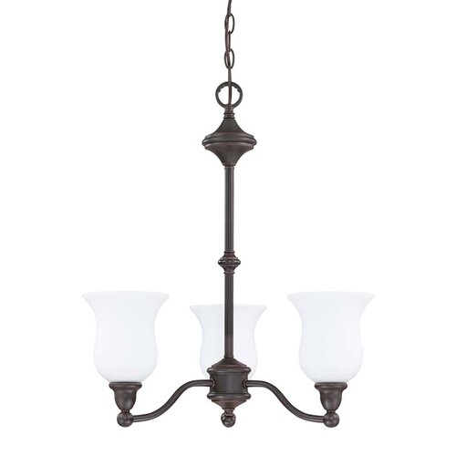 Nuvo Lighting Glenwood 3 Light Chandelier