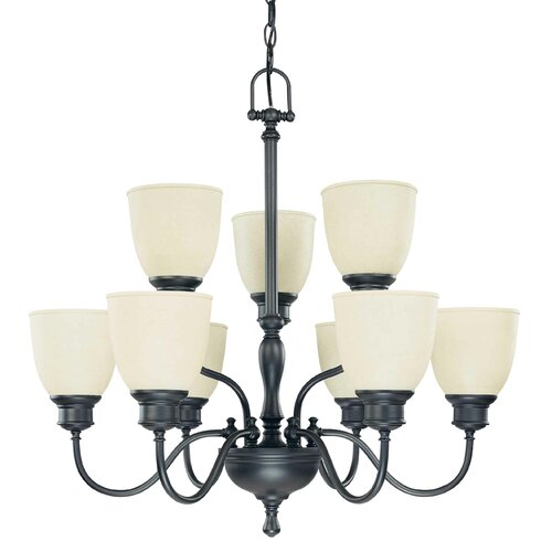 Bella 9 Light Chandelier