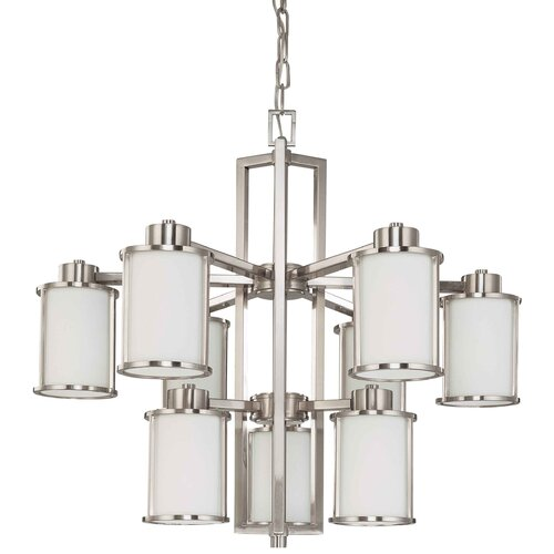 Nuvo Lighting Odeon 9 Light Chandelier