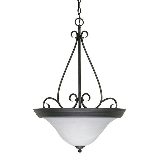 Nuvo Lighting Castillo 3 Light Inverted Pendant