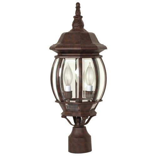 Nuvo Lighting Central 3 Light Post Lantern