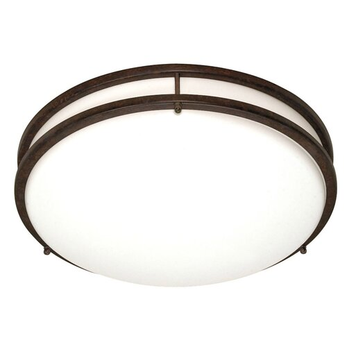 Nuvo Lighting Glamour Energy Star 3 Light Flush Mount