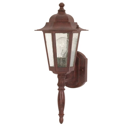 Nuvo Lighting Cornerstone 1 Light Wall Lantern