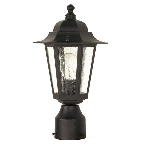 "Nuvo Lighting Cornerstone 1 Light 14.25"" Post Lantern"