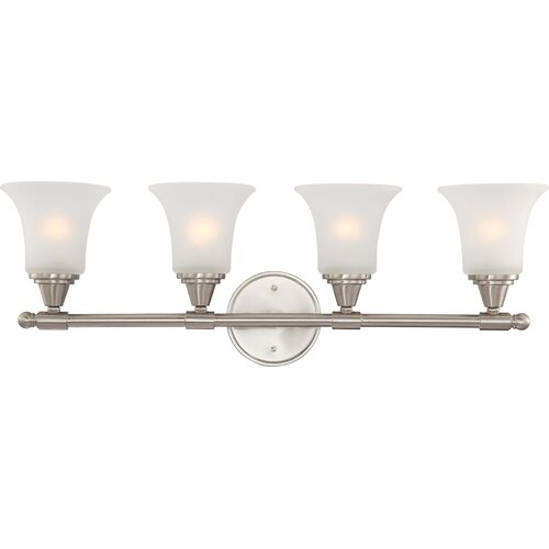 Nuvo Lighting Surrey 4 Light Bath Vanity Light