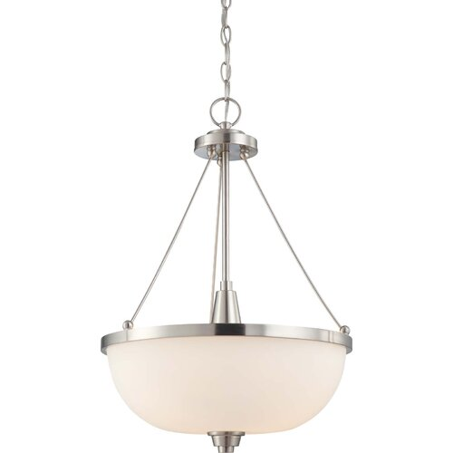 Nuvo Lighting Helium 3 Light Inverted Pendant