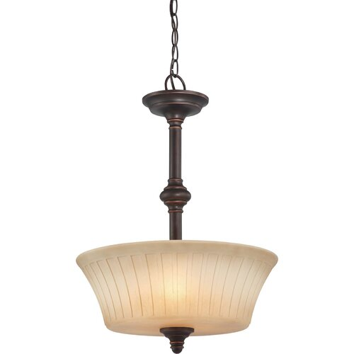 Nuvo Lighting Franklin 3 Light Inverted Pendant