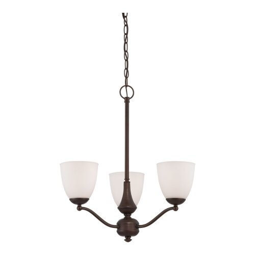 Patton 3 Light Chandelier