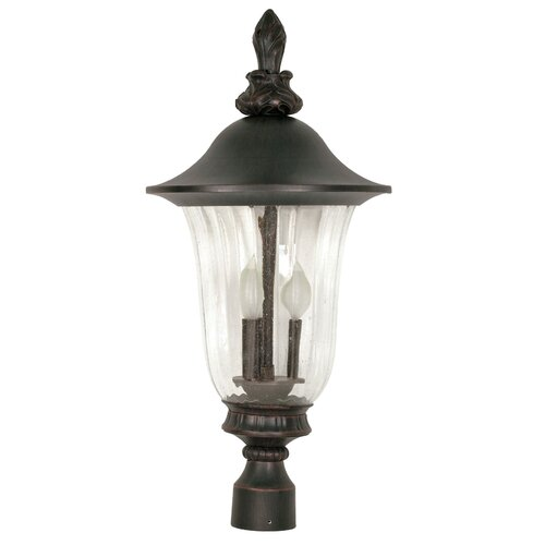 Nuvo Lighting Parisian 3 Light Post Lantern