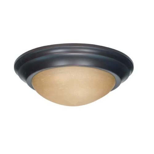 "Nuvo Lighting 6"" x 17"" Flush Mount"