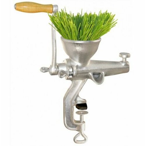 Weston Cast Iron Tin Coated Wheatgrass Juicer