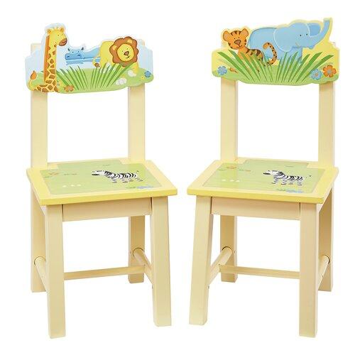 Savanna Smiles Kids Desk Chair (Set of 2)