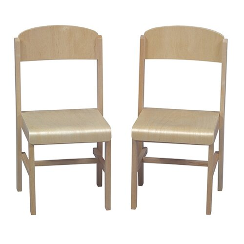 Guidecraft Woodscape Kid's Desk Chair (Set of 2)