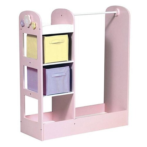 Guidecraft See and Store Dress Up Center in Pastel