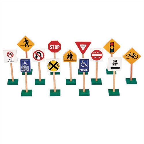 Guidecraft Traffic Signs