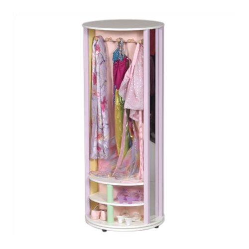 Guidecraft Pastel Dress-Up Carousel Armoire