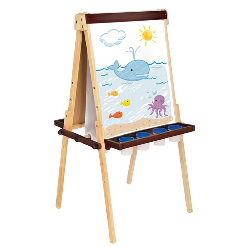 Guidecraft Art Equipment Floor Easel