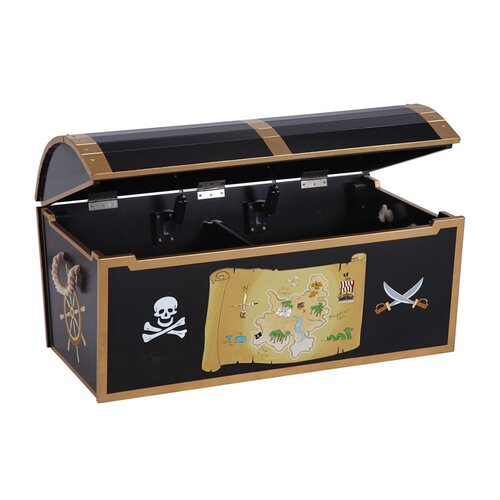 Guidecraft Personalized Pirate Treasure Chest Reviews Wayfair