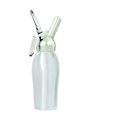 Liss Professional 1 Pint Cream Whipper in Brushed Stainless Steel