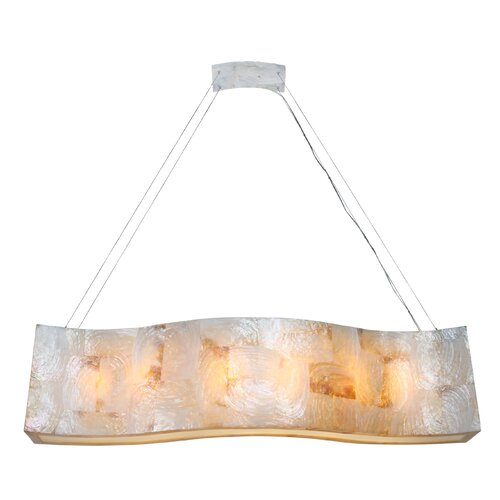 Big Linear 6 Light Pendant