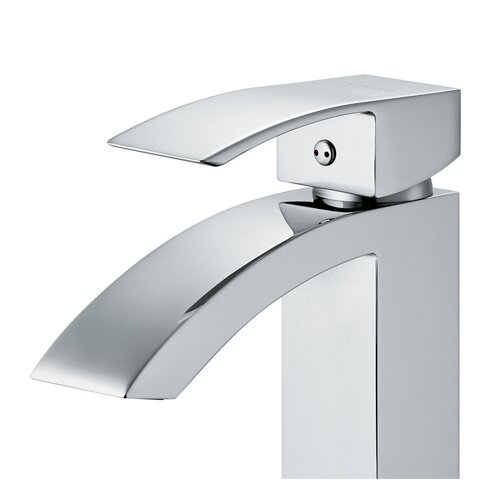 Vigo Single Hole Angled Faucet with Single Handle