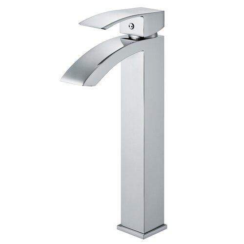 Single Hole Angled Faucet with Single Handle