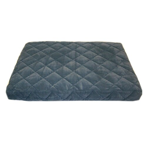 Quilted Orthopedic Dog Pillow with Protector Pad