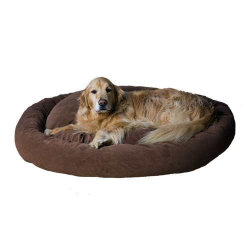 Zoey Tails Microfiber Bagel Dog Pillow