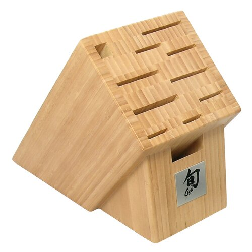 Shun 11 Slot Bamboo Knife Block
