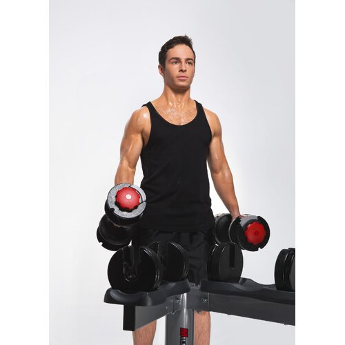 Mileage Fitness Adjustable Dumbbells with Stand