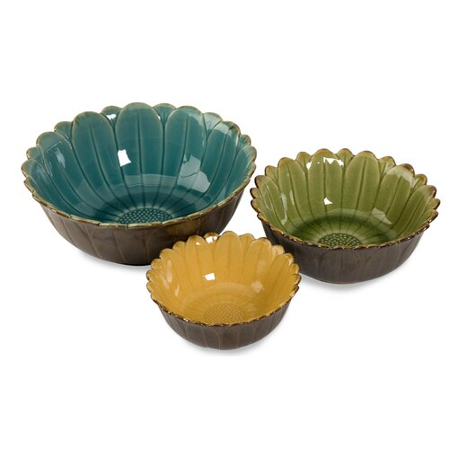 Daisy Bowls (Set of 3)