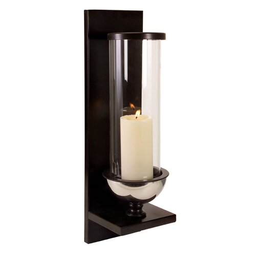 Wall Sconces At Wayfair : IMAX Metal and Glass Wall Sconce & Reviews Wayfair