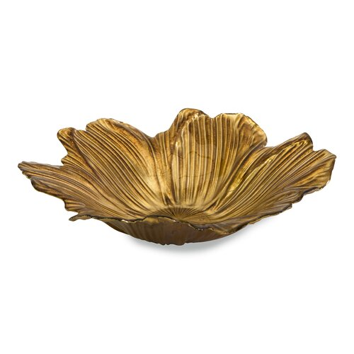 Marquette Floral Glass Bowl