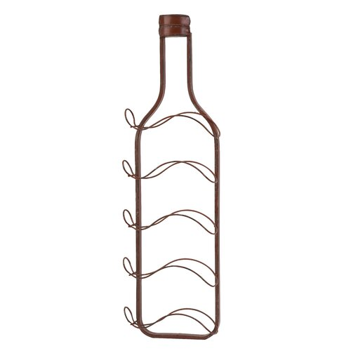 Lerwich Wine Bottle Holder Wall Decor