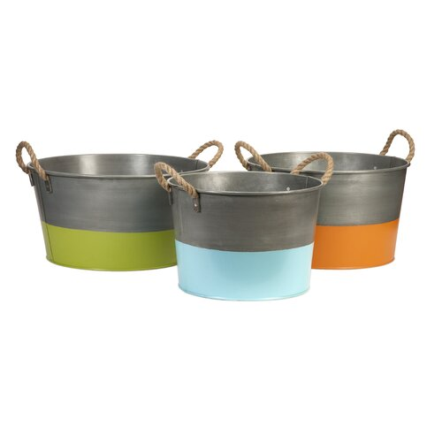 Chelsey 3 Piece Round Tubs Set