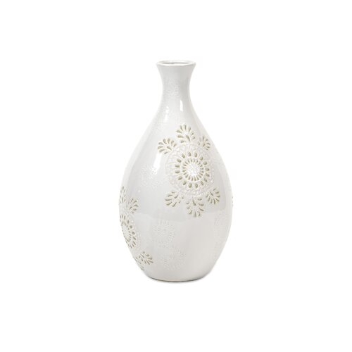 Kayla Wide Pattern Vase