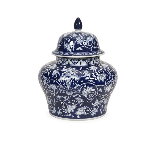 Tollmache Small Lidded Vase