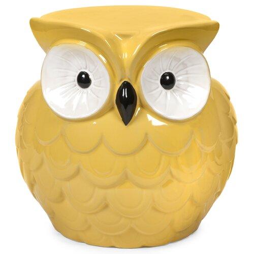 Hoot Owl Garden Stool