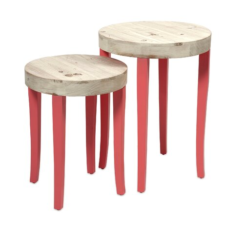 2 Piece Gill Nesting Tables Set