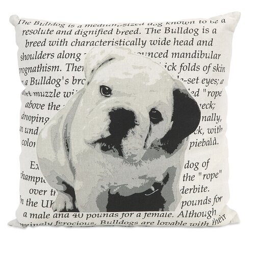 Bulldog Heritage Pillow