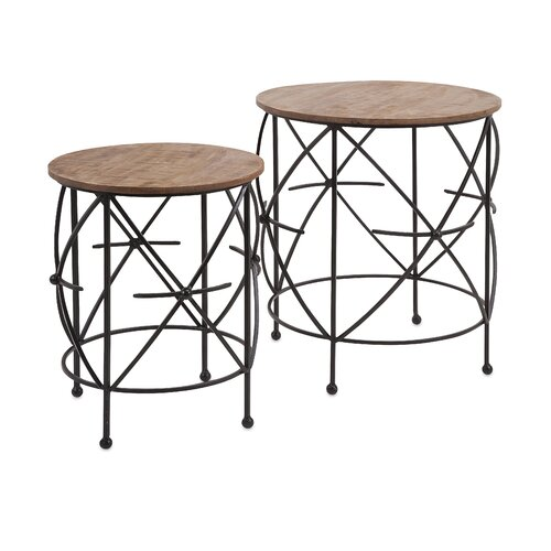 Oliver 2 Piece End Table