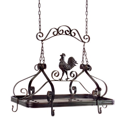 Coq-au-Vin Hanging Pot Rack