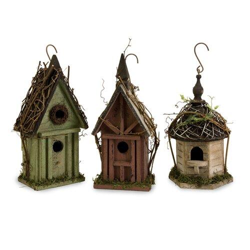 IMAX Carthage Bird Houses, 3 Piece Set
