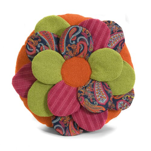 IMAX Estelle Multi Flower Cotton / Polyester Pillow