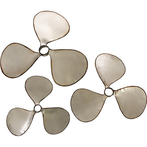 IMAX 3 Piece Pelham Propeller Wall Décor Set
