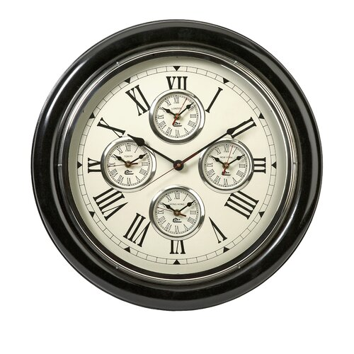 "IMAX Five Country 22"" Wall Clock"