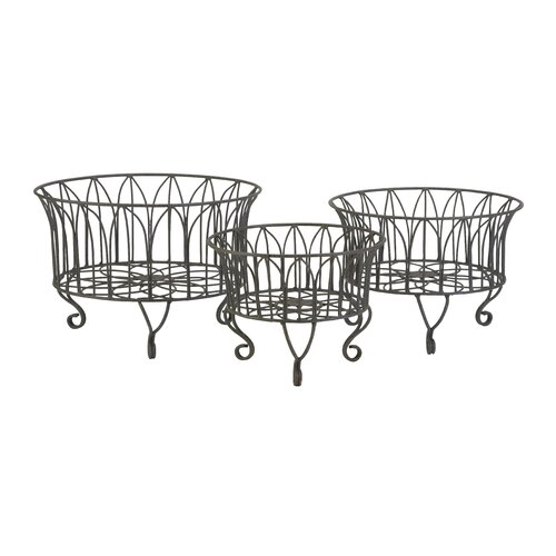 Joycelyn Metal Basket (Set of 3)