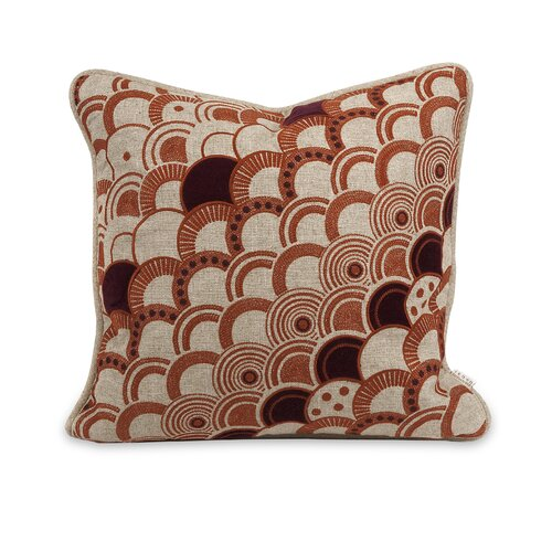 IK Haliea Embroidered Linen Pillow