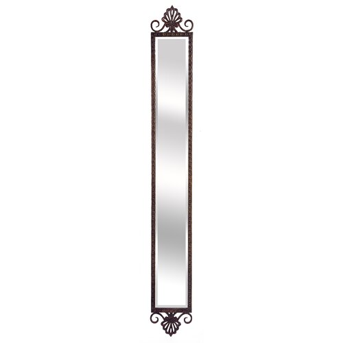 Imax narrow accent mirror reviews wayfair for Narrow mirror